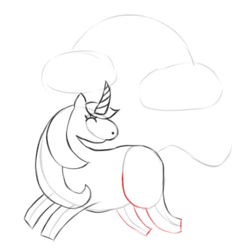Unicorns Easy To Draw - How to draw a beautiful unicorn